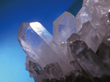 Clear Quartz Crystals (rock Crystals) Photographic Print by Geoff Tompkinson