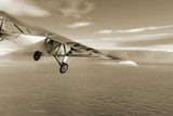 First Solo Transatlantic Flight, 1927 Photographic Print by Detlev Van Ravenswaay