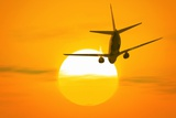Boeing 737 Ascending At Sunset, Artwork Prints by Detlev Van Ravenswaay