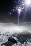 Apollo 11 Moon Landing, Artwork Papier Photo par Detlev Van Ravenswaay