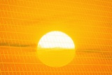 Sunset Reflection on Solar Panel, Artwork Photographic Print by Detlev Van Ravenswaay