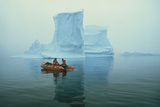Grounded Iceberg Near Rothera Station, BAS Photographic Print by David Vaughan