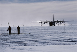 Antarctic Airfield Photographic Print by David Vaughan