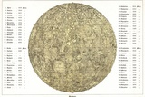 Lunar Map, 1822 Photographic Print by Detlev Van Ravenswaay