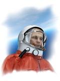 Yuri Gagarin, Soviet Cosmonaut Photographic Print by Detlev Van Ravenswaay