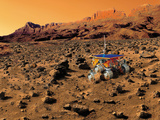 Mars Exploration Photographic Print by Detlev Van Ravenswaay