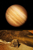 Jupiter From Io Photographic Print by Detlev Van Ravenswaay