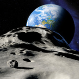 Near-Earth Asteroid Photographic Print by Detlev Van Ravenswaay