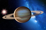 Saturn Photographic Print by Detlev Van Ravenswaay