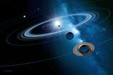 Solar System Prints by Detlev Van Ravenswaay