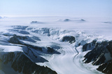 Perutz Glacier, Antarctic Peninsular. Photographic Print by David Vaughan
