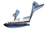 SpaceShipOne Re-entry, Artwork Photographic Print by Detlev Van Ravenswaay