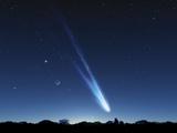 Comet In the Night Sky, Artwork Photo by Detlev Van Ravenswaay