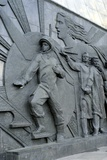 Soviet Monument To Yuri Gagarin Photographic Print by Detlev Van Ravenswaay