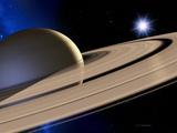 Anelli di Saturno Poster di Detlev Van Ravenswaay