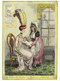 Breastfeeding, 18th-century Caricature Photographic Print by Miriam and Ira Wallach