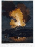 Eruption of Etna, 1766 Photographic Print by Miriam and Ira Wallach