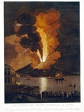 Eruption of Vesuvius, 1779 Photographic Print by Miriam and Ira Wallach