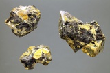 Uranium-bearing Mineral Rocks Photographic Print by Dirk Wiersma