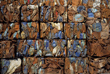 Scrap Metal Bales Photographic Print by Dirk Wiersma