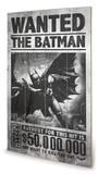 Batman Arkham Origins - Wanted Holzschild