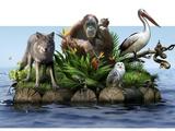 Endangered Animals, Conceptual Image Affiches par  SMETEK