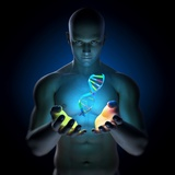 Genetic Research, Conceptual Artwork Premium Photographic Print by  SCIEPRO