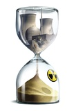 Nuclear Hourglass, Conceptual Image Posters by  SMETEK