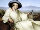 Johann Von Goethe, German Author Premium Photographic Print by  SMETEK