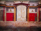 Mural of An Ancient Roman Theatre Stage Prints by  THEATRON