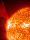 Solar Prominence Premium Photographic Print by  SOHO