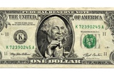 US Dollar Bill, George Washington Parody Print by  SMETEK