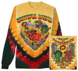 Long Sleeve: Grateful Dead - Positive Vibrations Bluser
