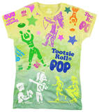 Juniors: Tootsie Pop - Tootsie Time T-shirts
