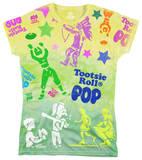 Juniors: Tootsie Pop - Tootsie Time T-shirts