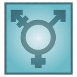 Transgender Symbol, Artwork Premium Photographic Print by Stephen Wood