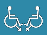 Disability Sexuality, Conceptual Artwork Photographic Print by Stephen Wood