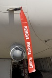 Remove Before Flight Tag Photographic Print by Mark Williamson