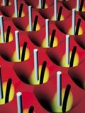 Nanowire Tweezers, Computer Artwork Photographic Print by Peidong Yang