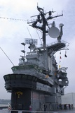 Bridge of USS Intrepid Aircraft Carrier. Photographic Print by Mark Williamson