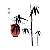 Geisha I Premium Giclee Print by Jenny Tsang