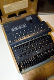 Enigma Code Machine Photographic Print by Mark Williamson