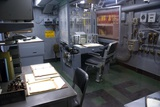 Operations Room on USS Intrepid. Posters by Mark Williamson