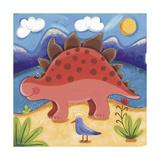 Baby Steggy The Stegosaurus Premium Giclee Print by Sophie Harding