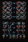 Aeroplane Control Panel Display Prints by Mark Williamson