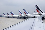 Aircraft At Charles De Gaulle Paris Photographic Print by Mark Williamson