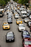 New York City Traffic Photographic Print by Mark Williamson