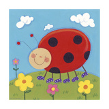 Mini Bugs IV Premium Giclee Print by Sophie Harding