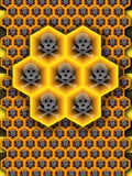 Bee Colony Collapse Disorder, Artwork Photographic Print by Stephen Wood