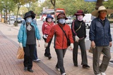 People In Face Masks, Daejeon, Korea Photographic Print by Mark Williamson